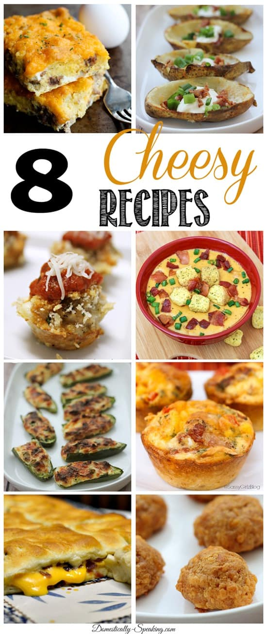 8 Cheesy Recipes that you want to make