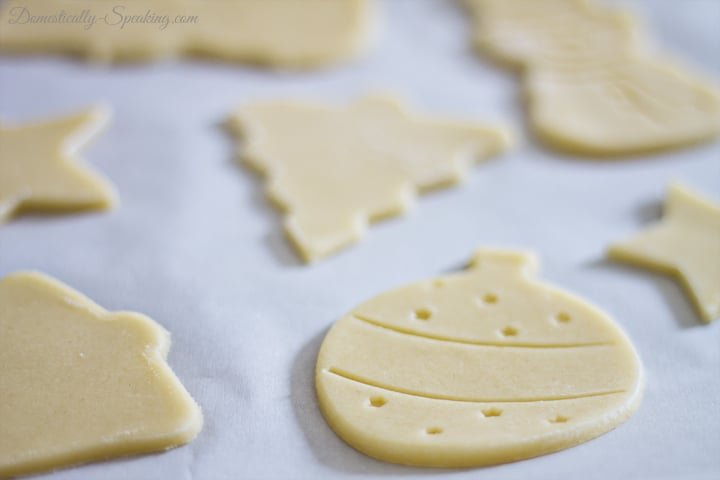 Almond Cream Cheese Sugar Cookies and Free Baggie Topper Printable 3