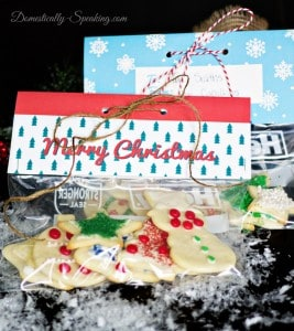 Almond Cream Cheese Sugar Cookies and Free Baggie Topper Printable 4