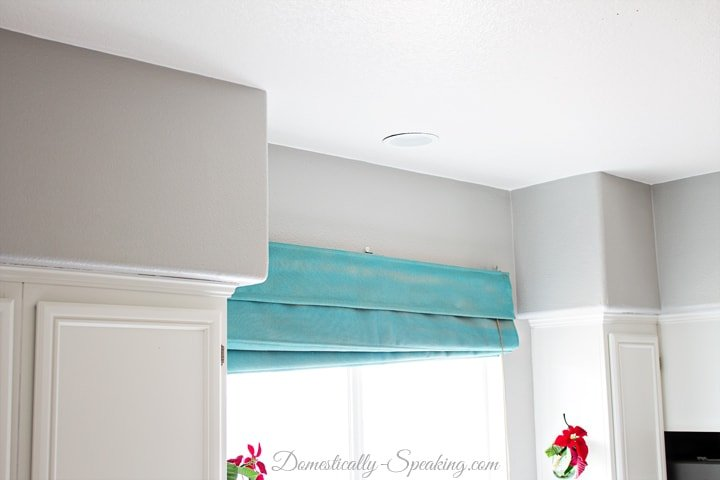 Measuring the Kitchen for Crown Molding