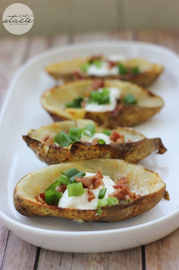 Cheesy Potato Skinks from Simply Stacie
