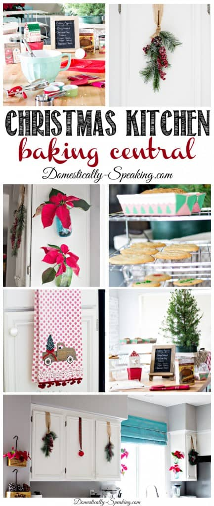 Christmas Kitchen baking central during this season