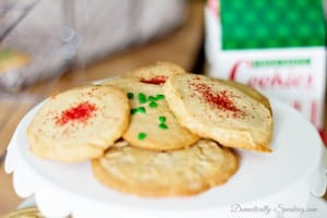 Grandma's Christmas Butter Cookies