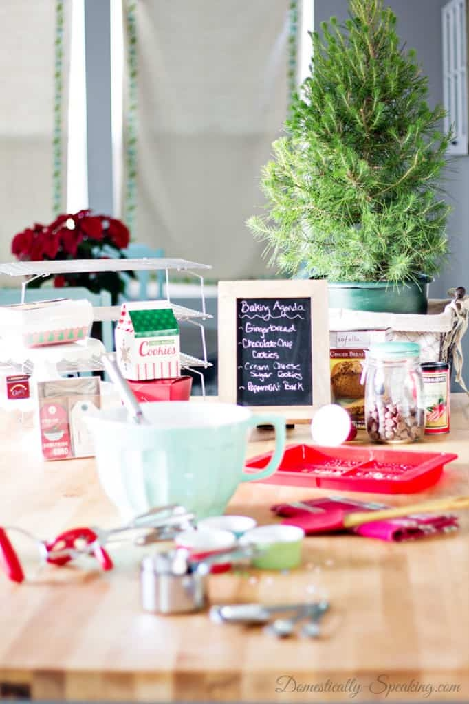 Christmas Kitchen with World Market 9