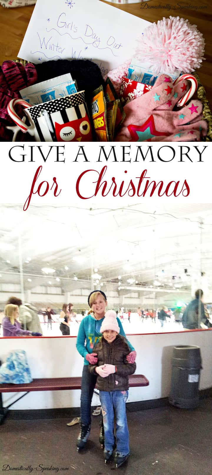Give a Memories as a Christmas Gift