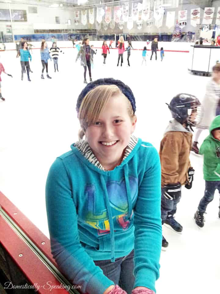 Ice Skating with Groupon