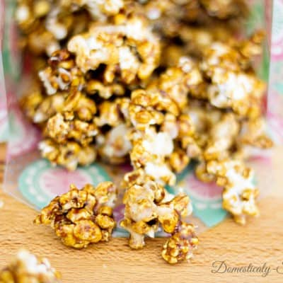 Iced Gingerbread Kettle Corn
