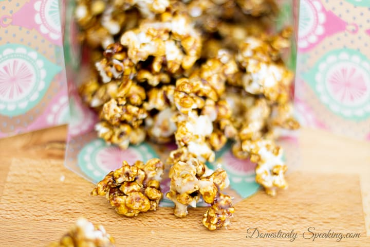 Iced Gingerbread Kettle Corn 1