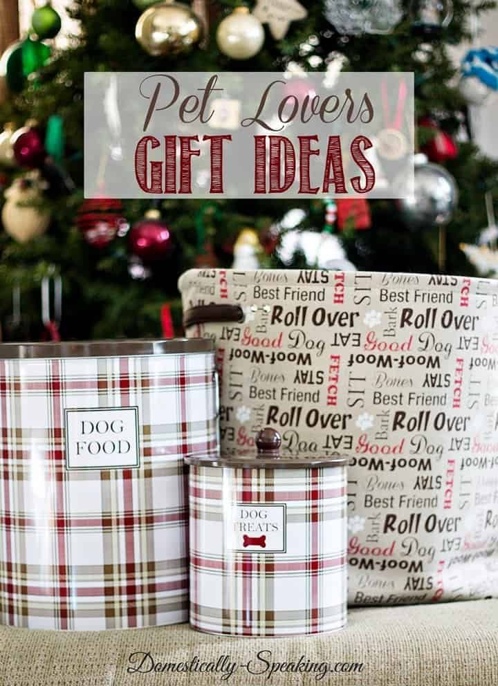Pet Lovers Gift Ideas