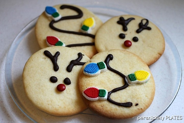 Reindeer Cookies from Persnickety Plates
