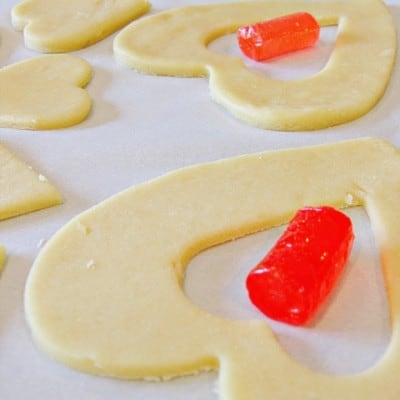 Valentine's Cookies ~ Cookie and Candy in One