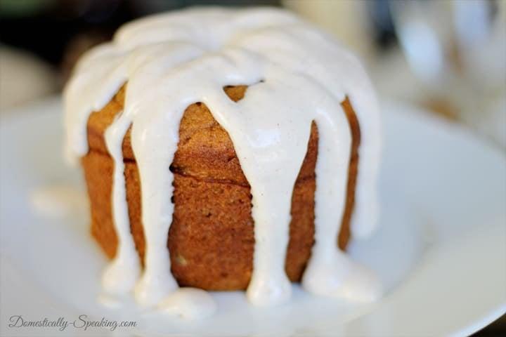 pumpkin spice cake 2