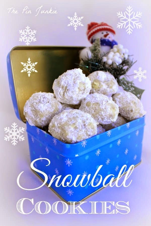 snowball cookies from The Pin Junkie