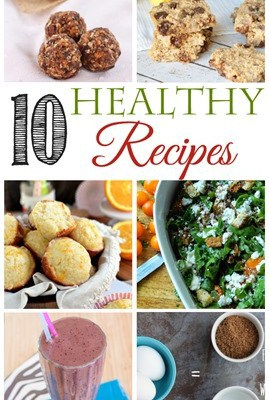 10 Healthy Recipes for the New Year… Feature Friday