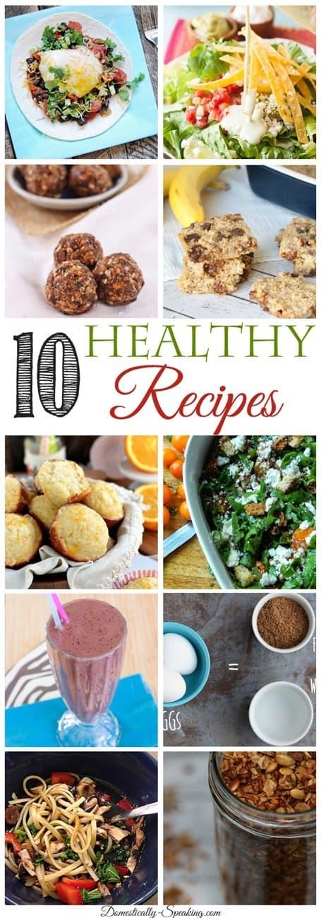 10 Healthy Recipes