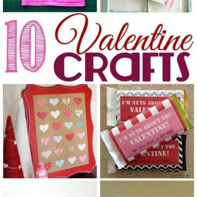 10 Valentine Crafts… Friday Features