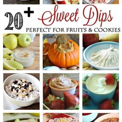 20+ Sweet Dips