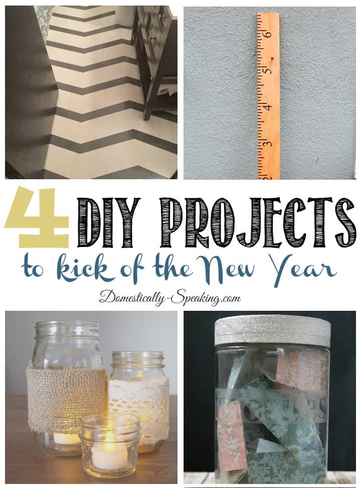 4 DIY Projects for the New Year