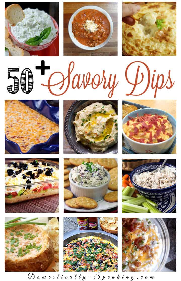 50+ Savory Dips