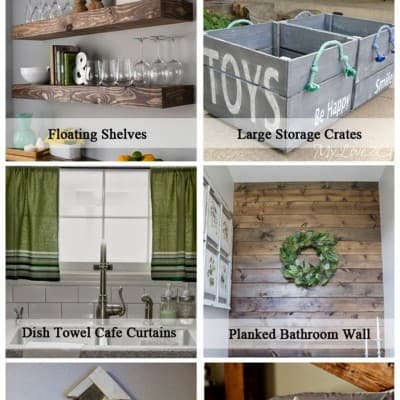 6 Home DIY Projects… Friday Features