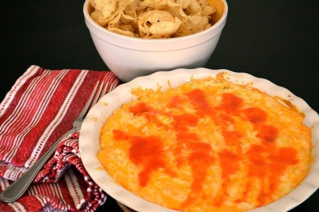 Buffalo Chicken Dip from Savory Experiments