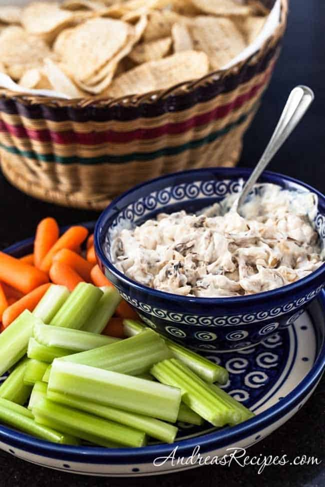 Carmalized Onion Dip from Andreas Recipes