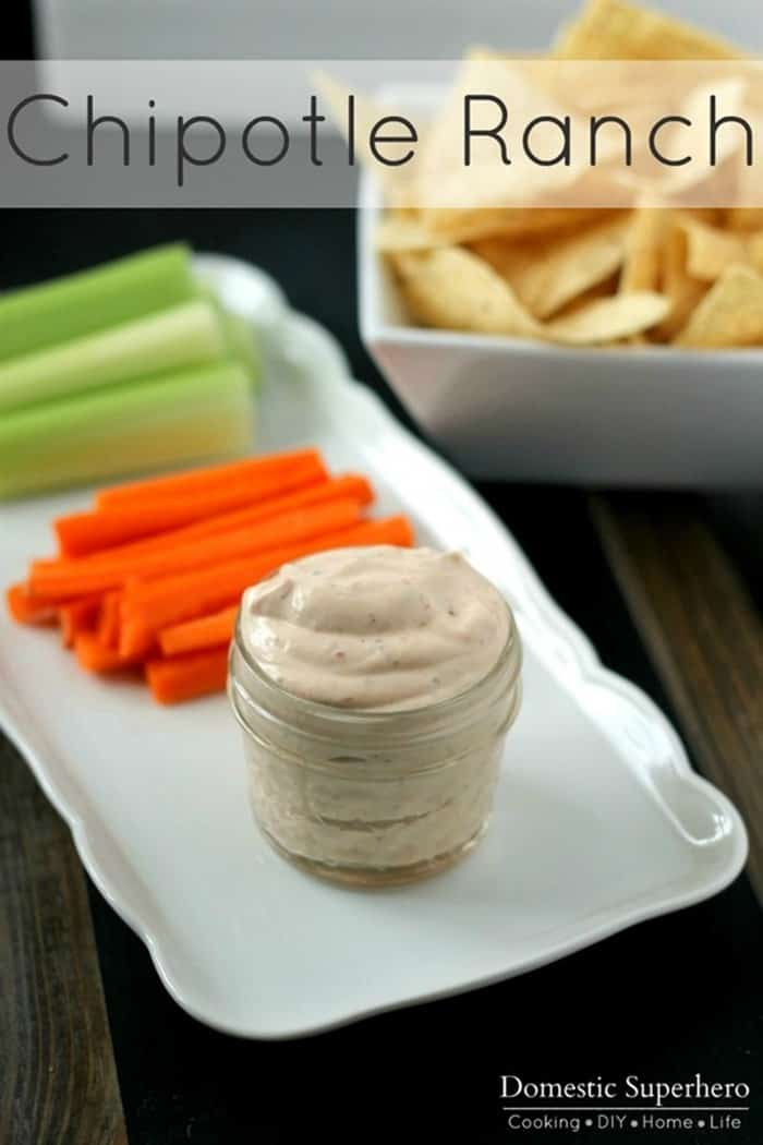 Chipotle Ranch Dip from Domestic Super Hero