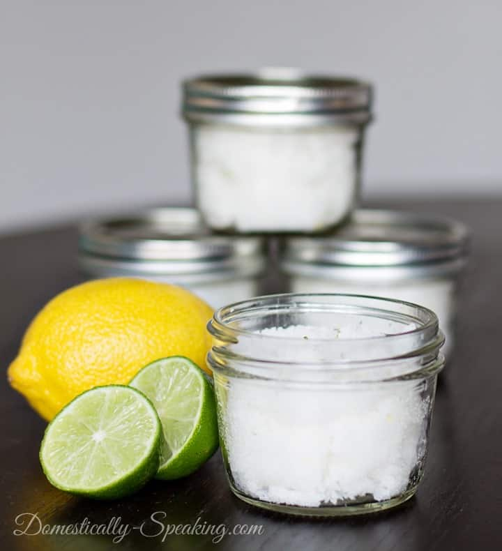 Make Your Own Citrus Body Scrub and save a ton of money. Click to find out how!