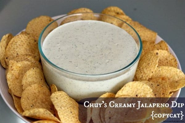 Creamy Jalapeno Dip from Who Needs a Cape
