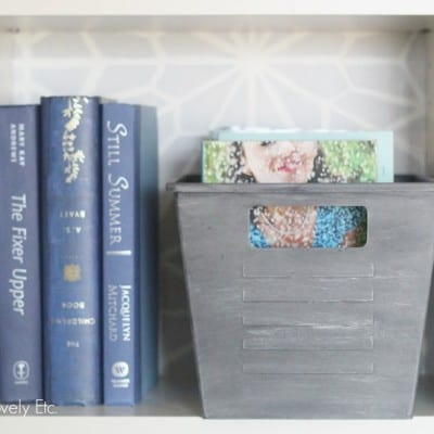 Turn Dollar Store Bins into Stylish Storage