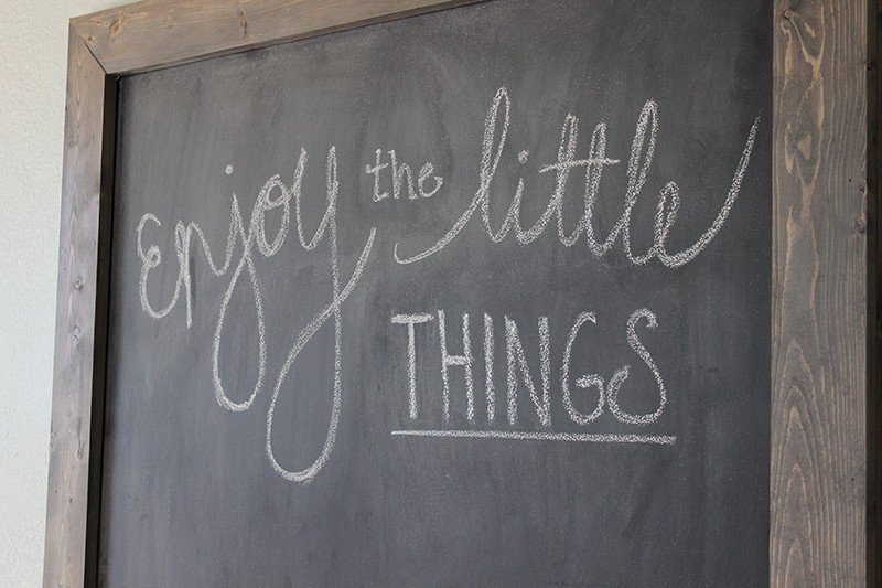 DIY Giant Chalkboard - See how easy it is to make your own!