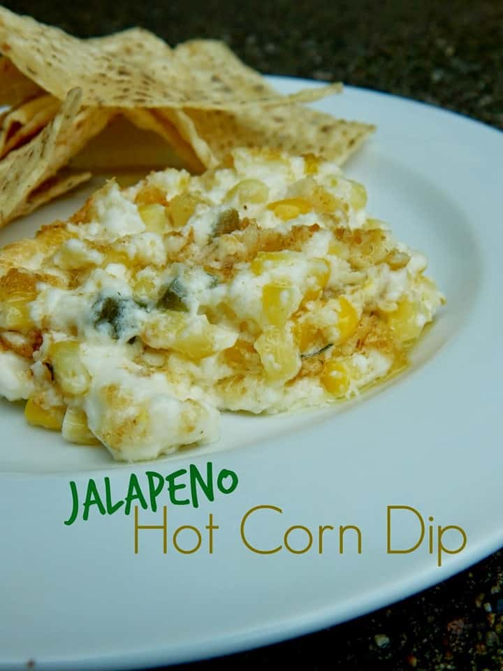 Jalapeno Hot Corn Dip from Sweet and Savory Food