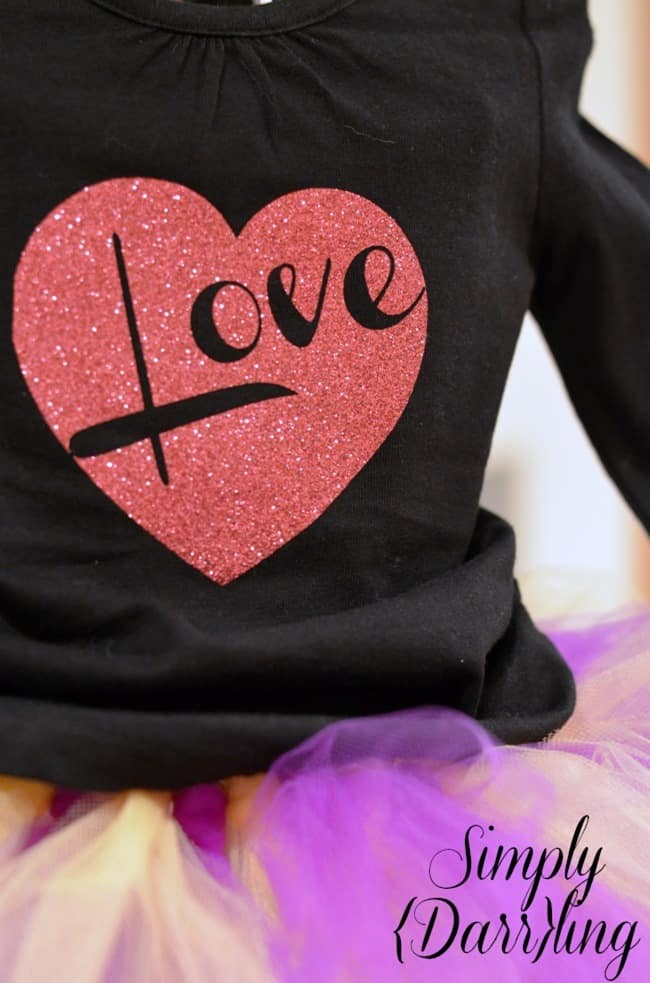 Kids Valentine Shirt from Simply Darrling