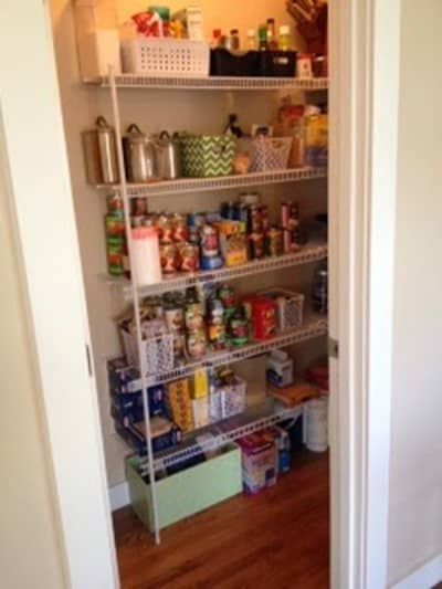 Kitchen Pantry Declutter from The Beautiful Userful Project