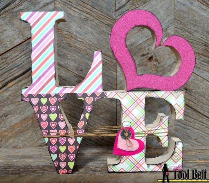 Love Wood Blocks from Her Tool Belt
