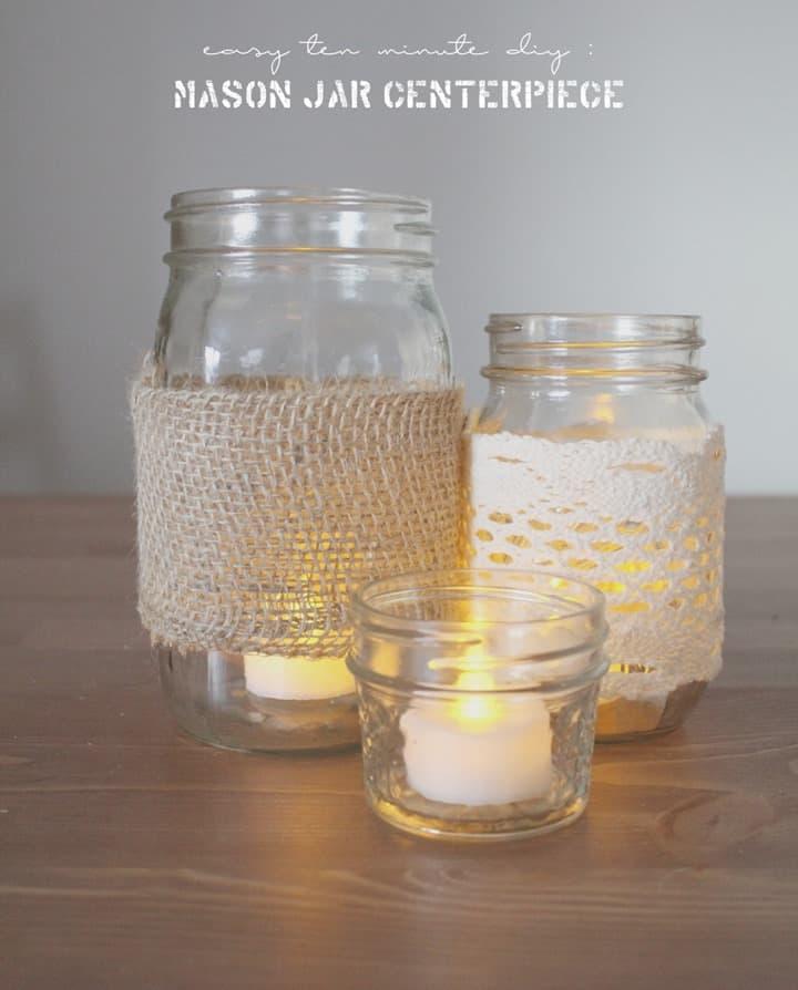 Mason-Jar-Centerpiece-DIY from Hello Nature Blog