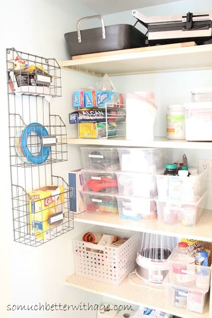 Pantry Organization with Tips from So Much Better With Age