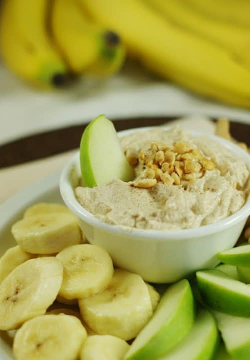 Peanut Butter Greek Yogurt Dip from The Kitchen in My Playground