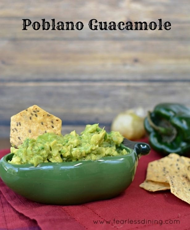 Poblano Guacamole from Fearless Dining