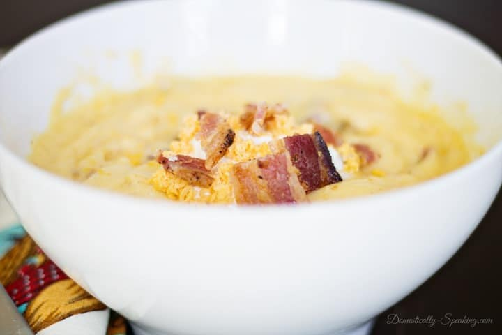 Creamt Potato Cheese Soup - My Favorite Soup