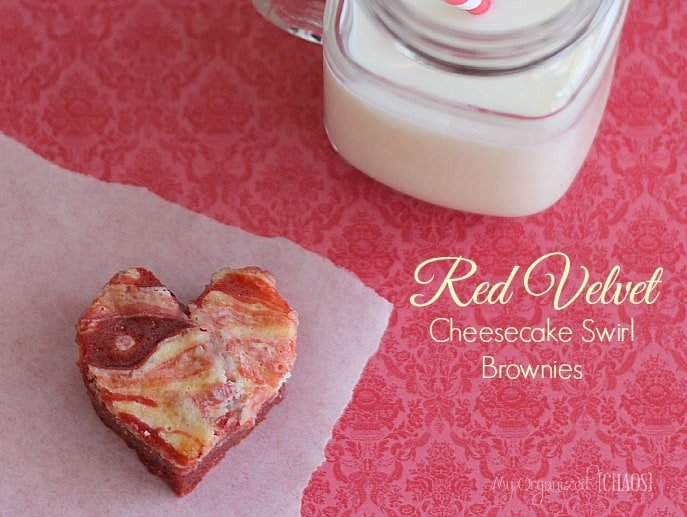 Red-Velvet-Cheesecake-Brownies-valentines-day from My Organized Chaos