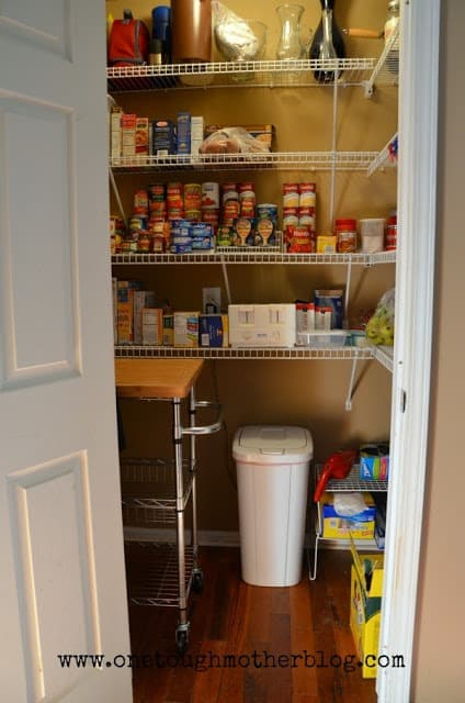 Simplify to Organize your Pantry from Sweet Tea and Saving Grace