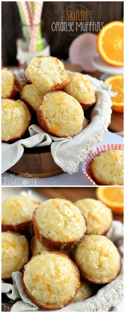 Skinny Orange Muffins from Mom on Timeout