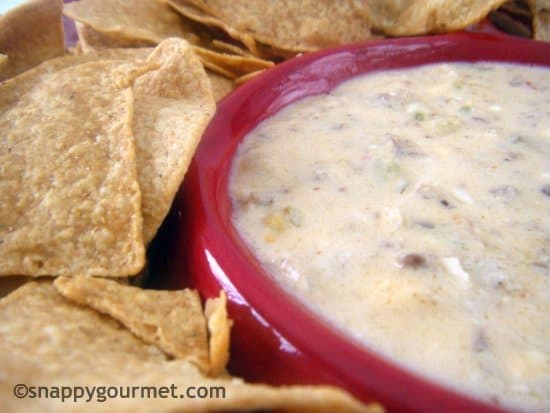 Slow Cooker Spicy Sausage Beer Cheese Dip fom Snappy Gourmet