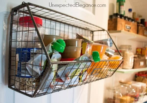 Use Storage Containers to Organize Your Pantry from Unexpected Elegance