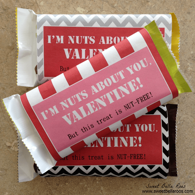 Valentines Candy Wrapper Free Printable from Grace and Good Eats