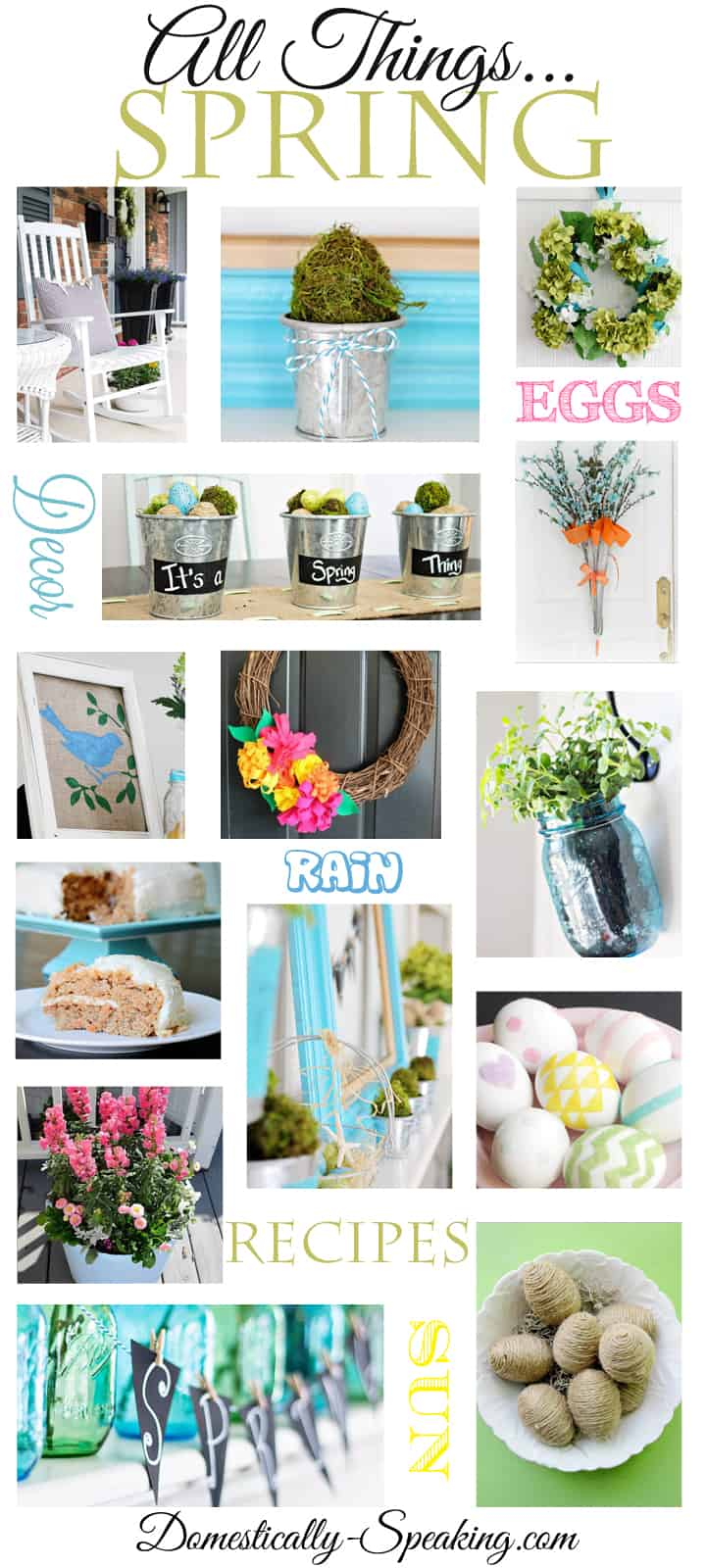 All Things Spring Over 100 Spring Crafts Recipes Decor