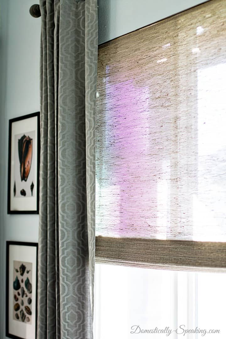 Beautiful Bamboo Blinds in the Family Room 5