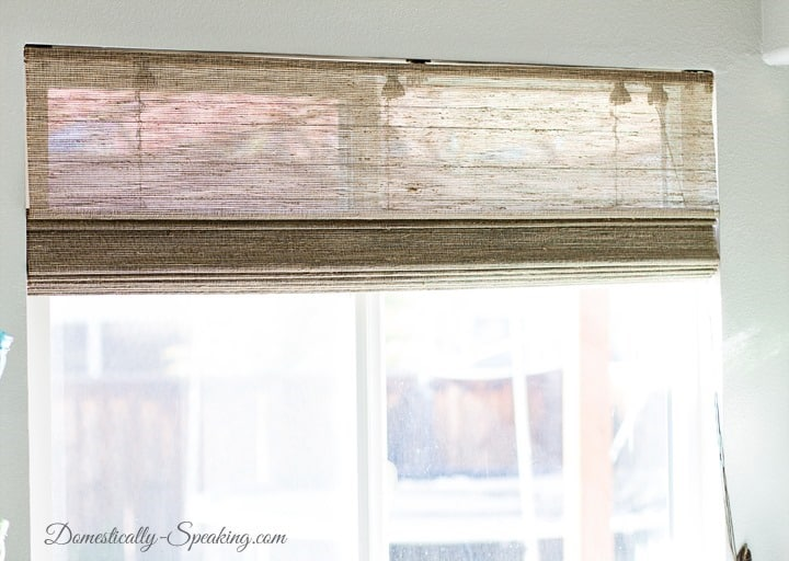 Beautiful Bamboo Blinds in the Kitchen 1