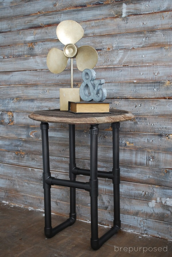 DIY Industrial PVC Pipe Table from Bre Purposed